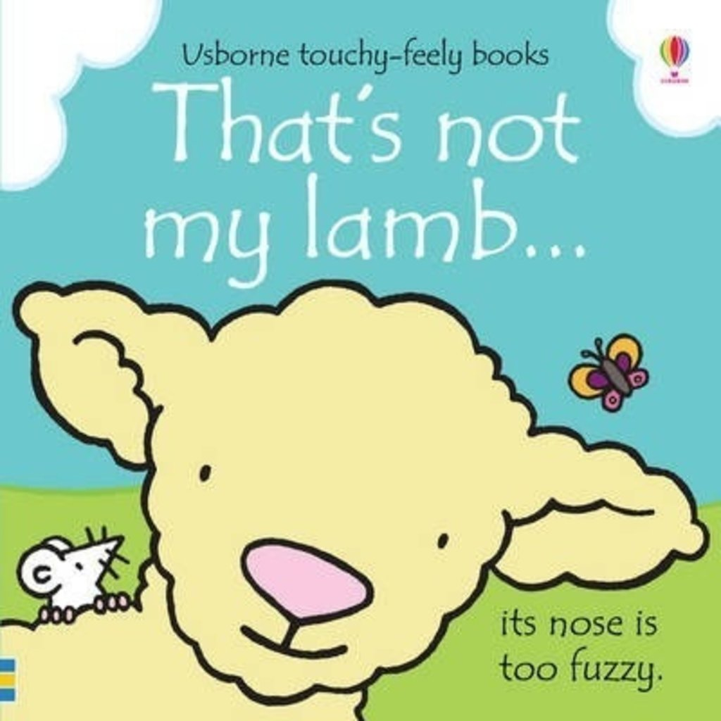Usborne Thats Not My Lamb