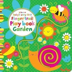 usbourne Baby's Very First Fingertrail Play Book Garden