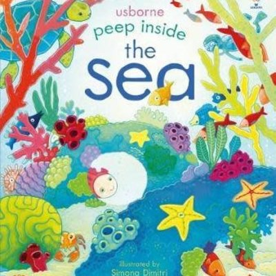 Usborne Usbourne Peep Inside The Sea
