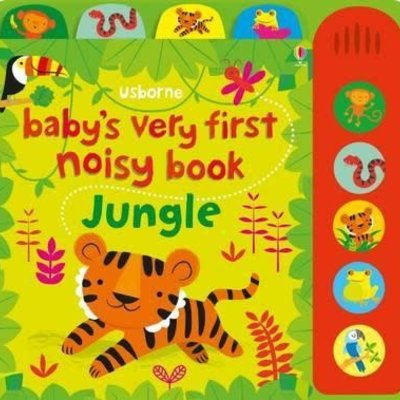 Babys Very First Noisy Book Jungle