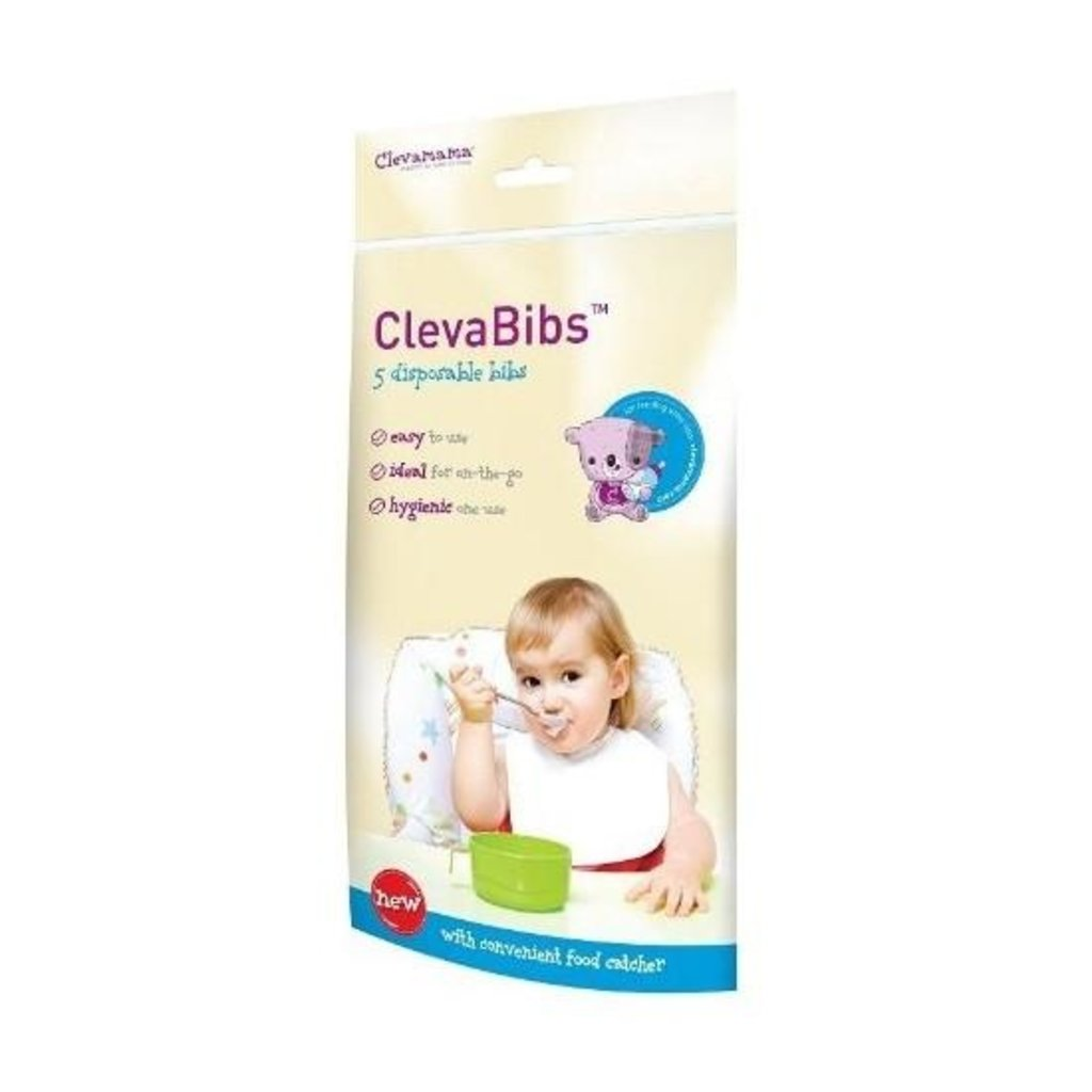 Clevamama ClevaBibs (Pack of 5 Disposbale Bibs)