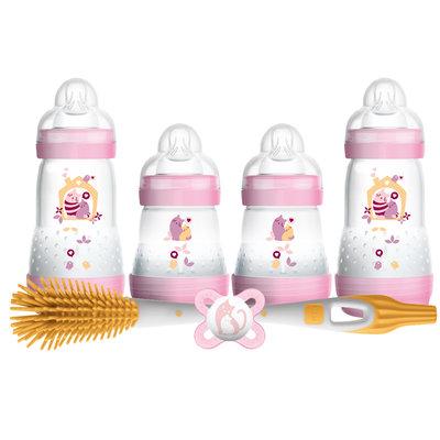 Mam MAM Newborn Feeding Set Pink