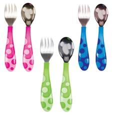 Munchkin Munchkin Raise Toddler Fork & Spoon Set
