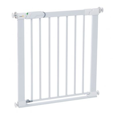 Safety 1st Safety 1st Flat Step Metal Gate White
