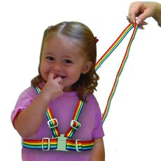 Clippasafe Clippasafe Harness & Reins Rainbow