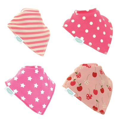 Pretty Pinks Dribble Bib