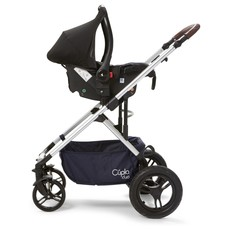 Cupla Duo 2 in 1 Pushchair - Navy