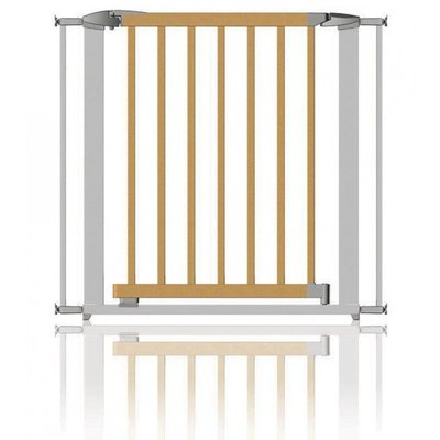 Swing Shut Extendable Gate  73-96cm Wood/ Metal