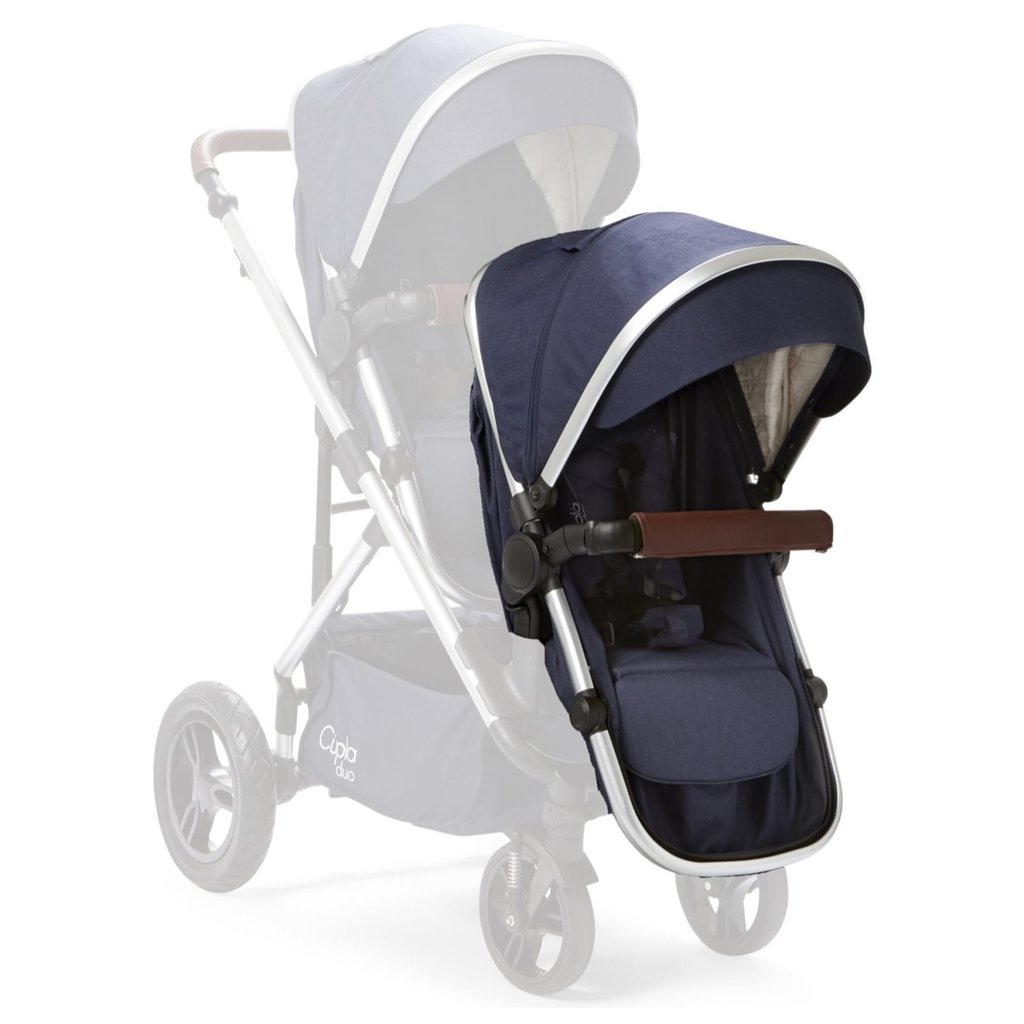 Baby Elegance Cupla Duo Second Seat w Rain Cover - Navy