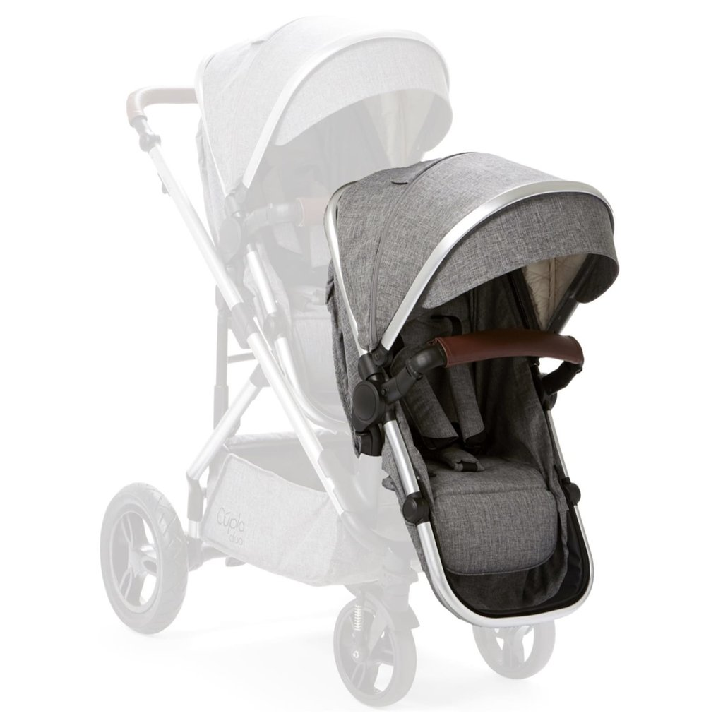 Baby Elegance Cupla Duo Second Seat w Rain Cover Grey