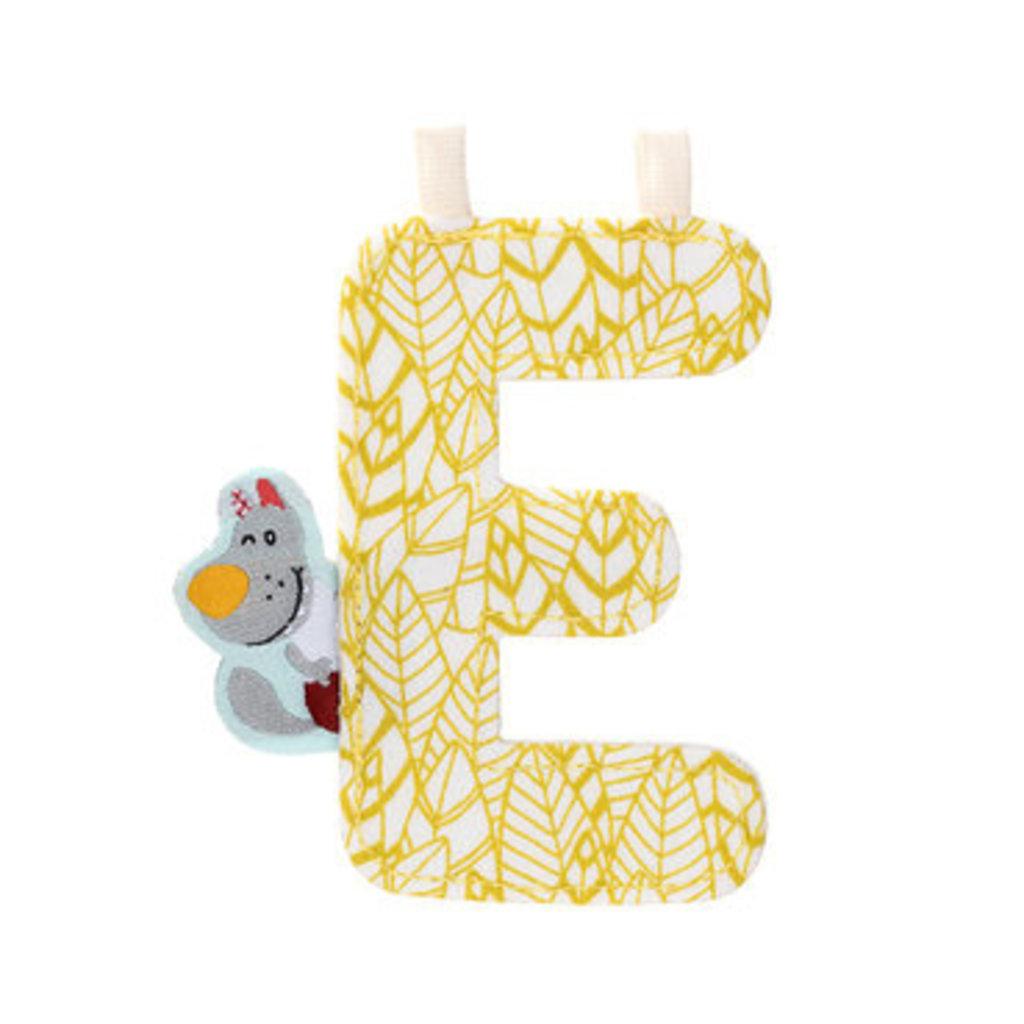 Lilliputiens Lilliputiens Fabric Letter E Anatole