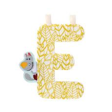 Lilliputiens Lilliputiens Fabric Letter E