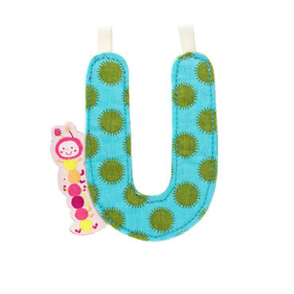 Lilliputiens Lilliputiens Fabric Letter U