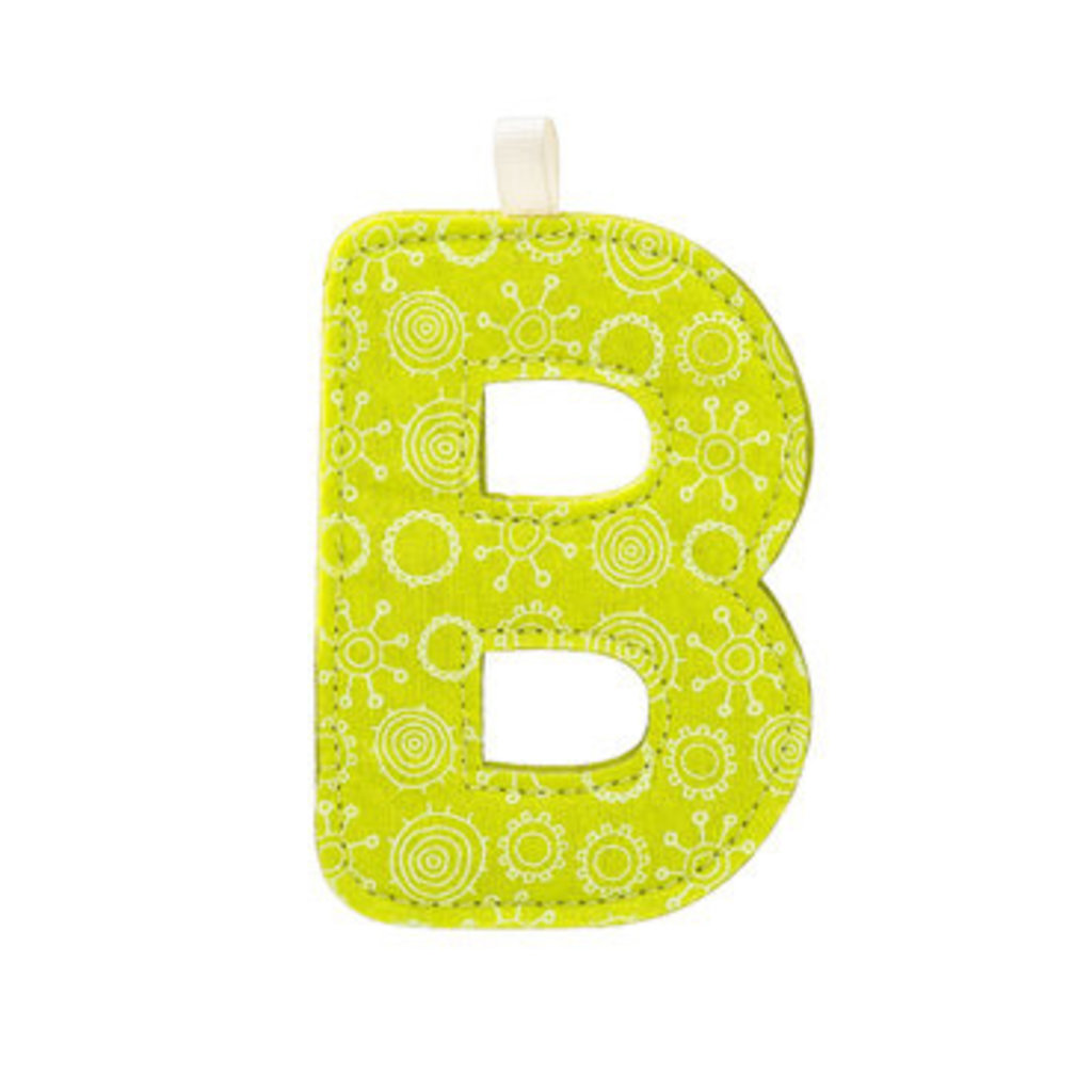 Lilliputiens Lilliputiens Fabric Letters B