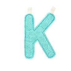 Lilliputiens Lilliputiens Fabric Letter K