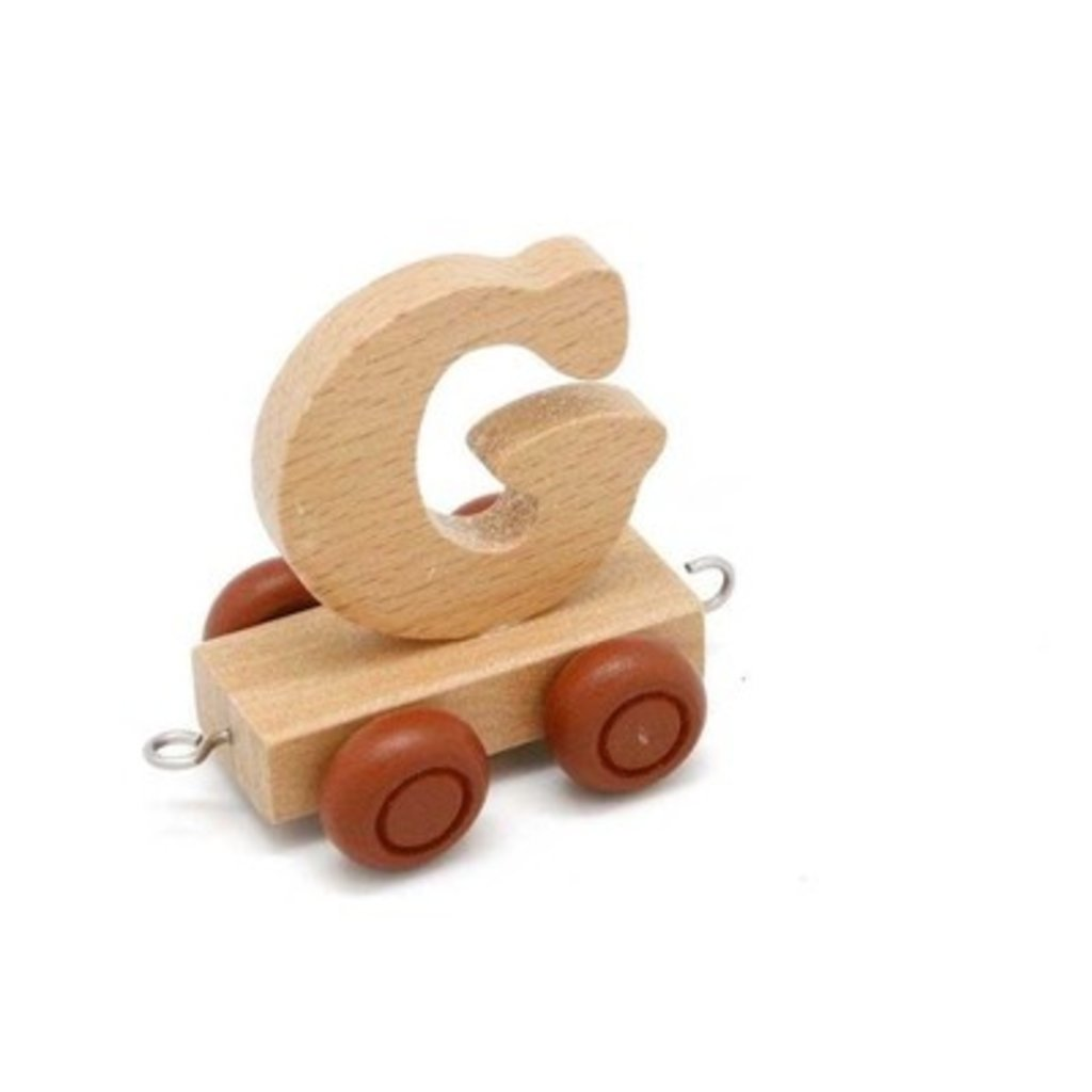 Natural Train Letters - G