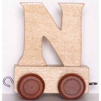Natural Train Letters - N