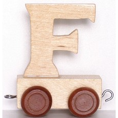 Natural Train Letters - F