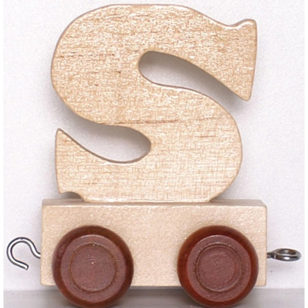 Natural Train Letters - S