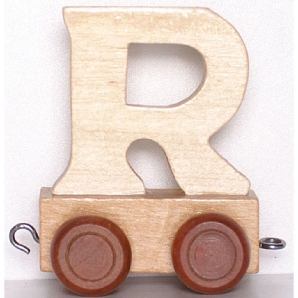 Natural Train Letters - R