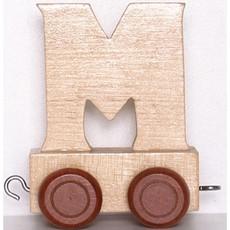 Natural Train Letters - M