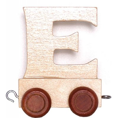 Ryantown Natural Train Letters - E