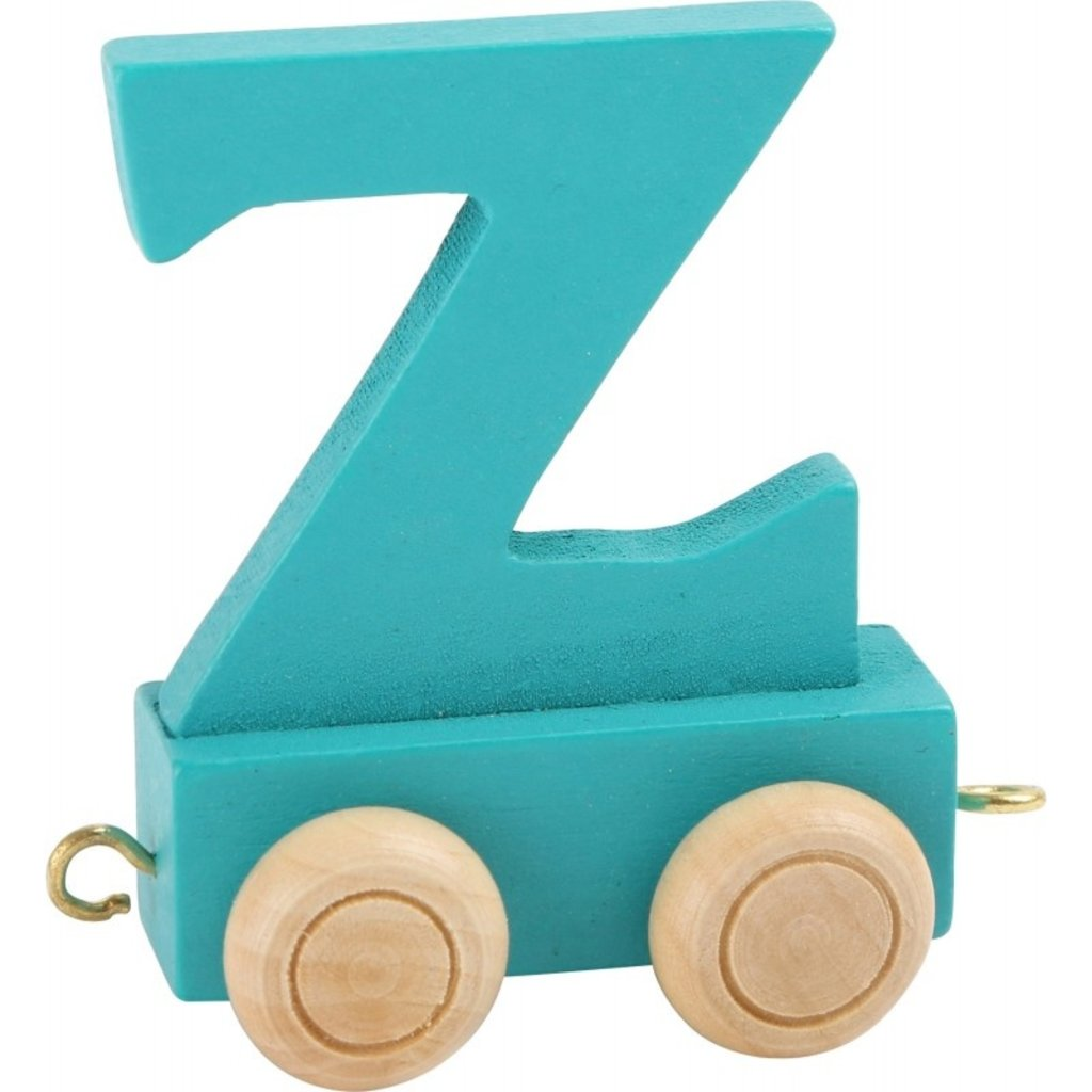 Coloured Train Letters - Z