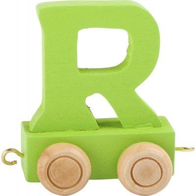 Coloured Train Letters - R