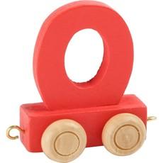Coloured Train Letters - O