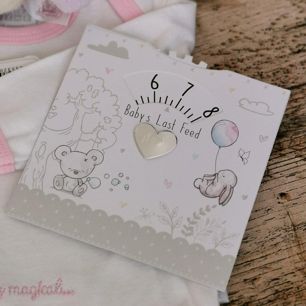 Baby Art Baby's Last Feed Card