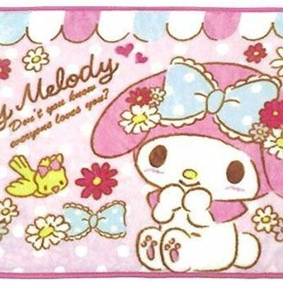 My Melody Blanket  - Pink