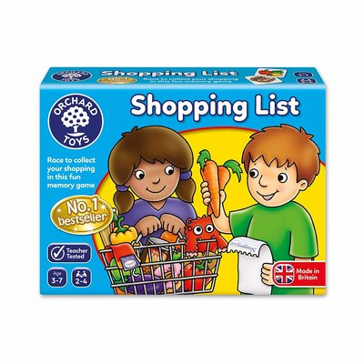 Orchard Orchard Toys Shopping list