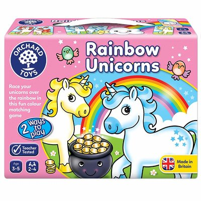 Orchard Orchard Toys Rainbow Unicorn