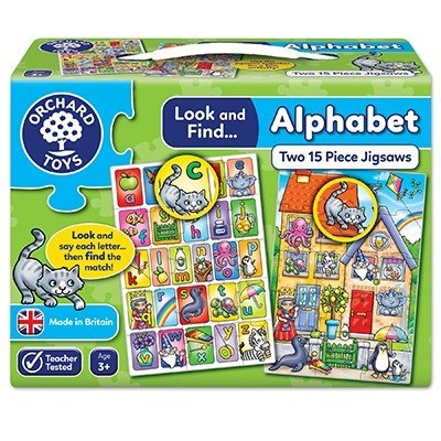 Orchard Orchard toys Look and Find Alphabet