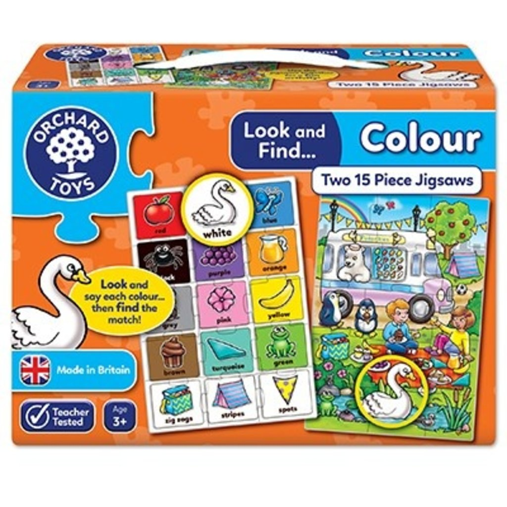 Orchard Orchard toys Look and Find Colour