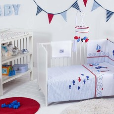 Red Kite Cosi Cot Set Ships Ahoy