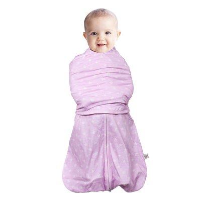 Clevamama 3-1 Swaddle Sleep Bag 3-6 Pink
