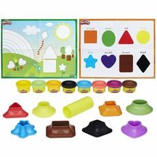 Play Doh Shape & Colour Fun