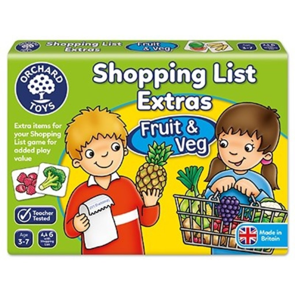 Orchard Orchard toys Shopping list extras Fruit & Veg
