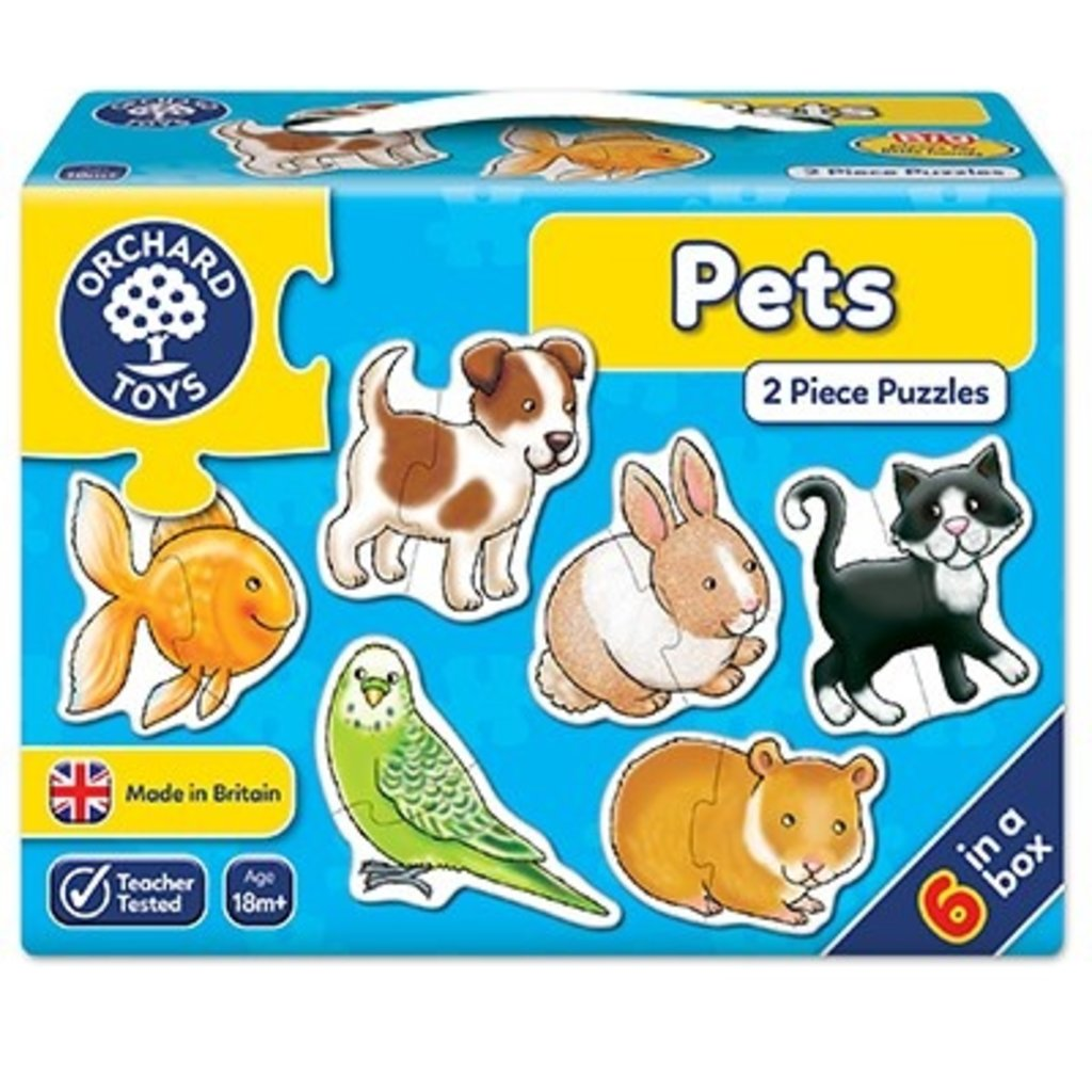 Orchard Orchard Toys Pets Jigsaw