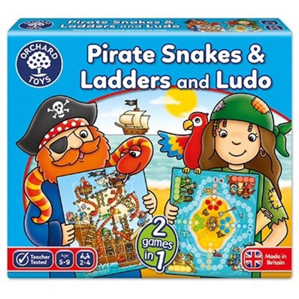 Orchard Orchard Toys Pirate Snakes & Ladders