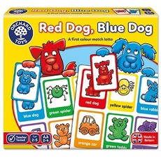 Orchard Orchard Toys Red Dog, Blue Dog
