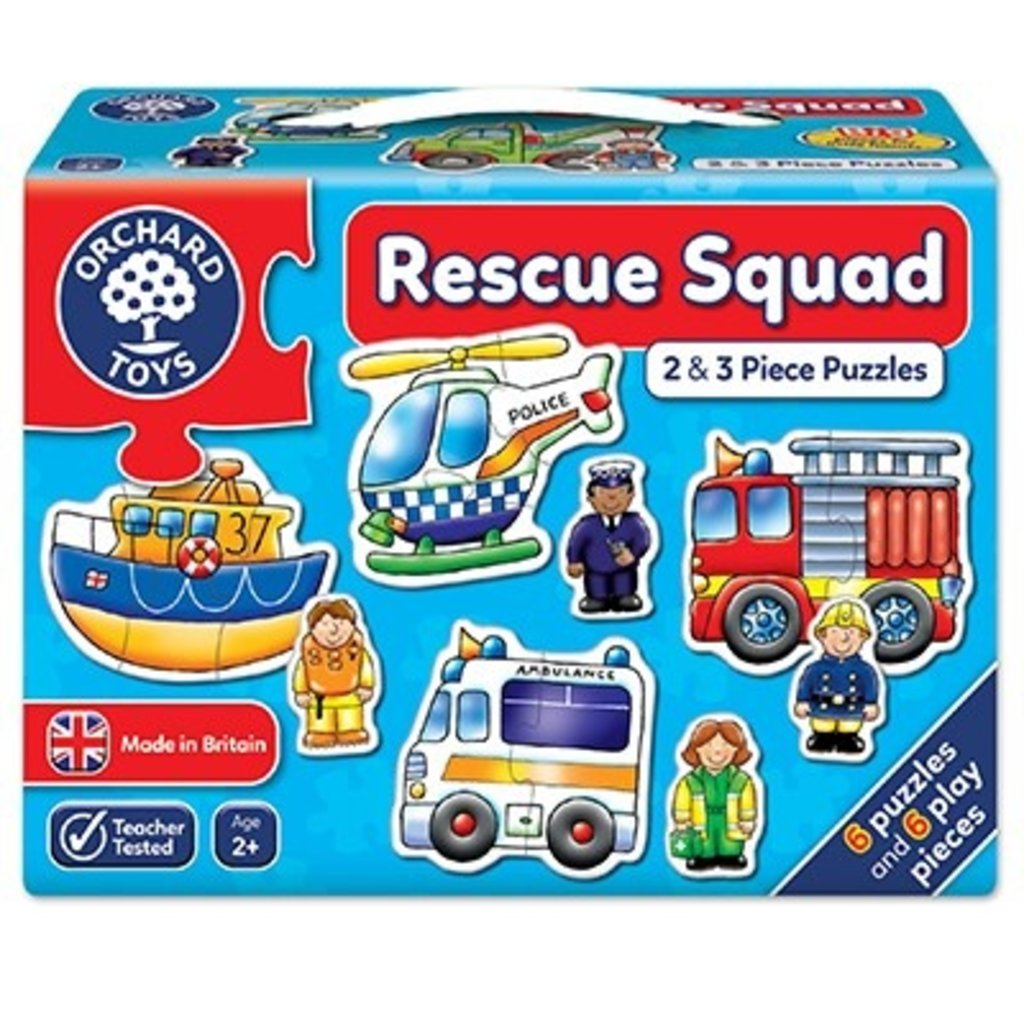 Orchard Orchard Toys Rescue squad Jigsaw
