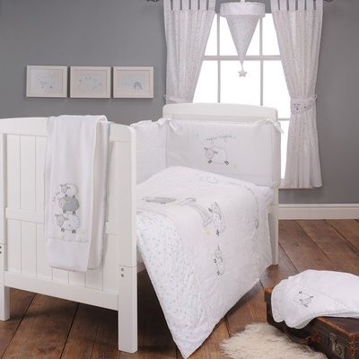 Silver Cloud Counting Sheep 3pc Bedding