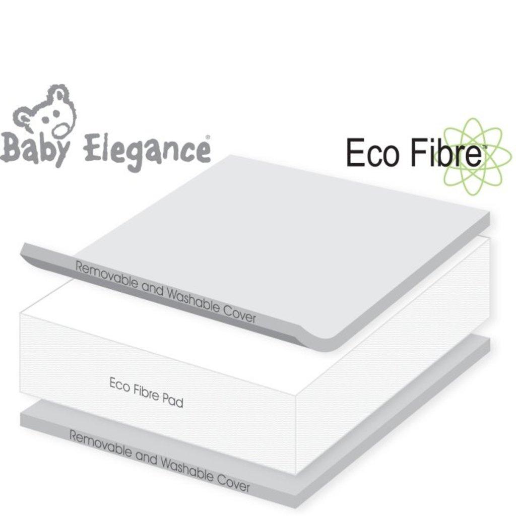 Baby Elegance Eco Fibre Crib Mattress 43x89cm