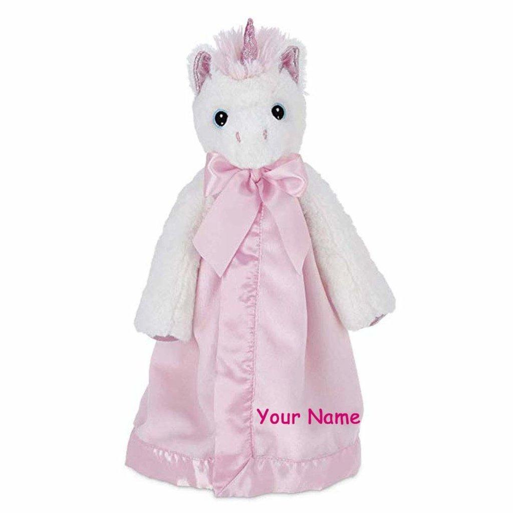 Snugglebaby unicorn white blanket