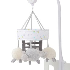 Silver Cloud East Coast Counting Sheep Cot Mobile