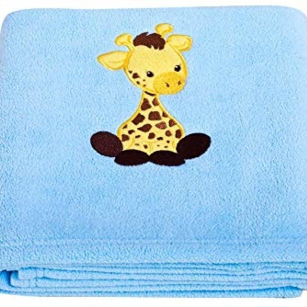 Applique Fleece Blanket