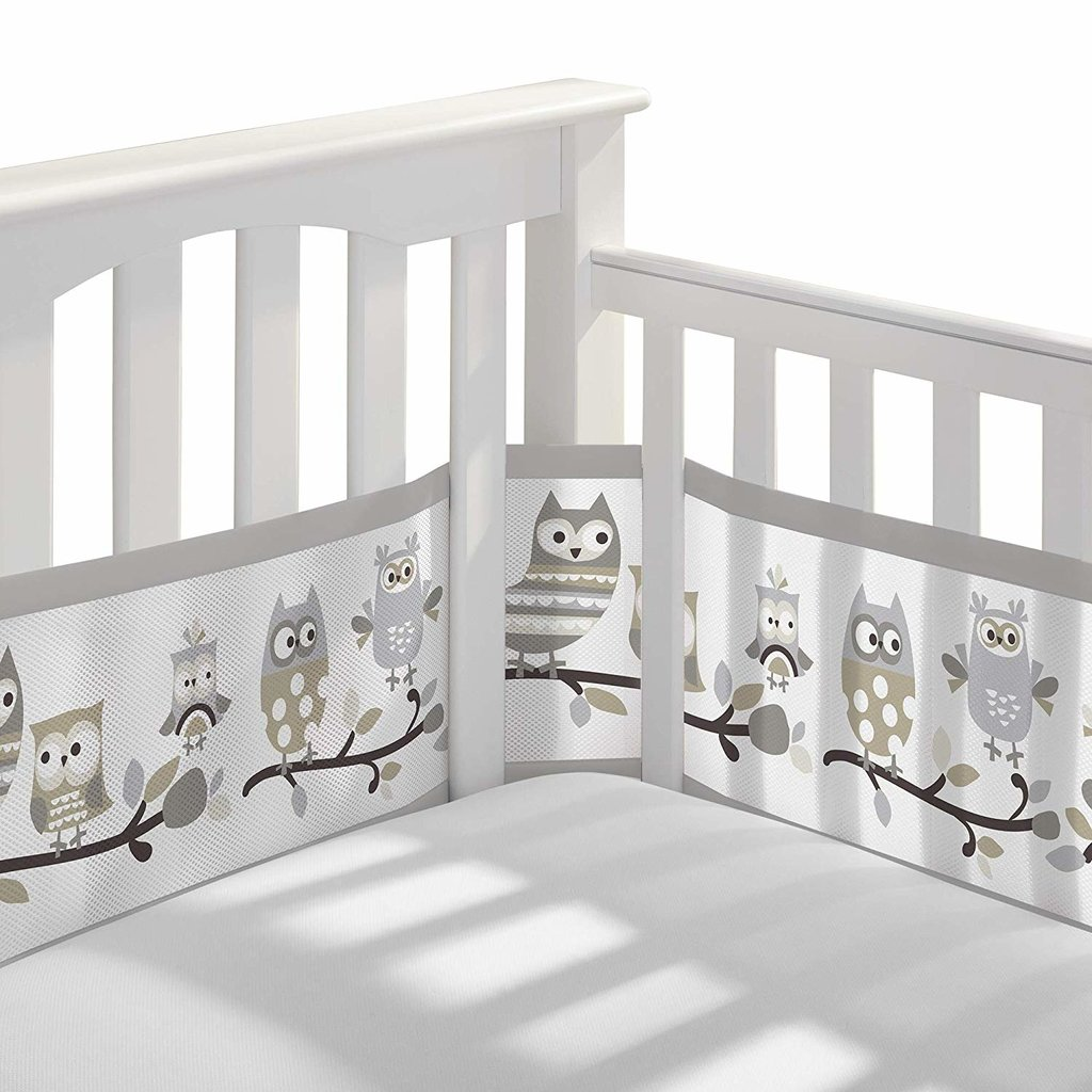 Breathable Mesh Bumper OWL STORY