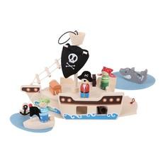 Bigjig Bigjigs Pirate Ship Mini Playset
